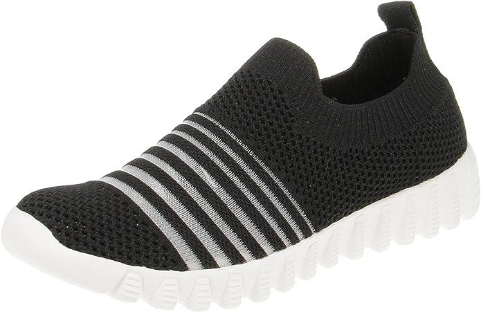 Bernie Mev BM94 Wylie - Damen Schuhe Sneaker - Black