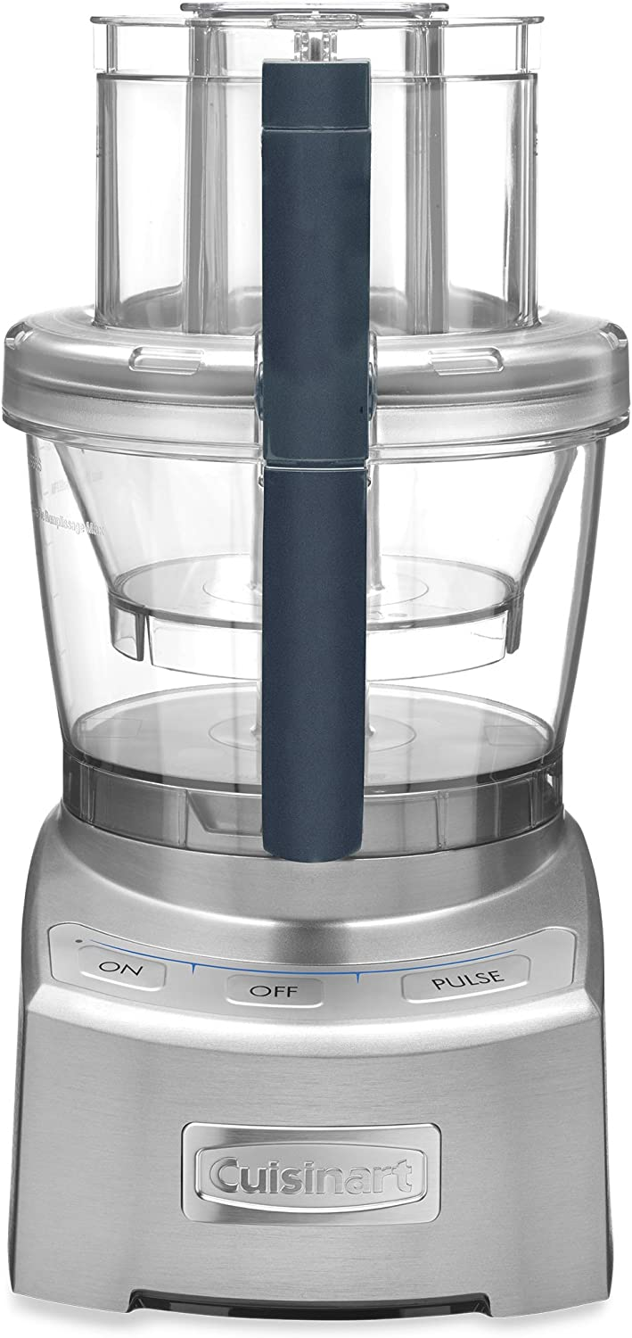 Cuisinart FP-12DCN Elite Collection 2.0 12-Cup Food Processor, Silver Die Cast