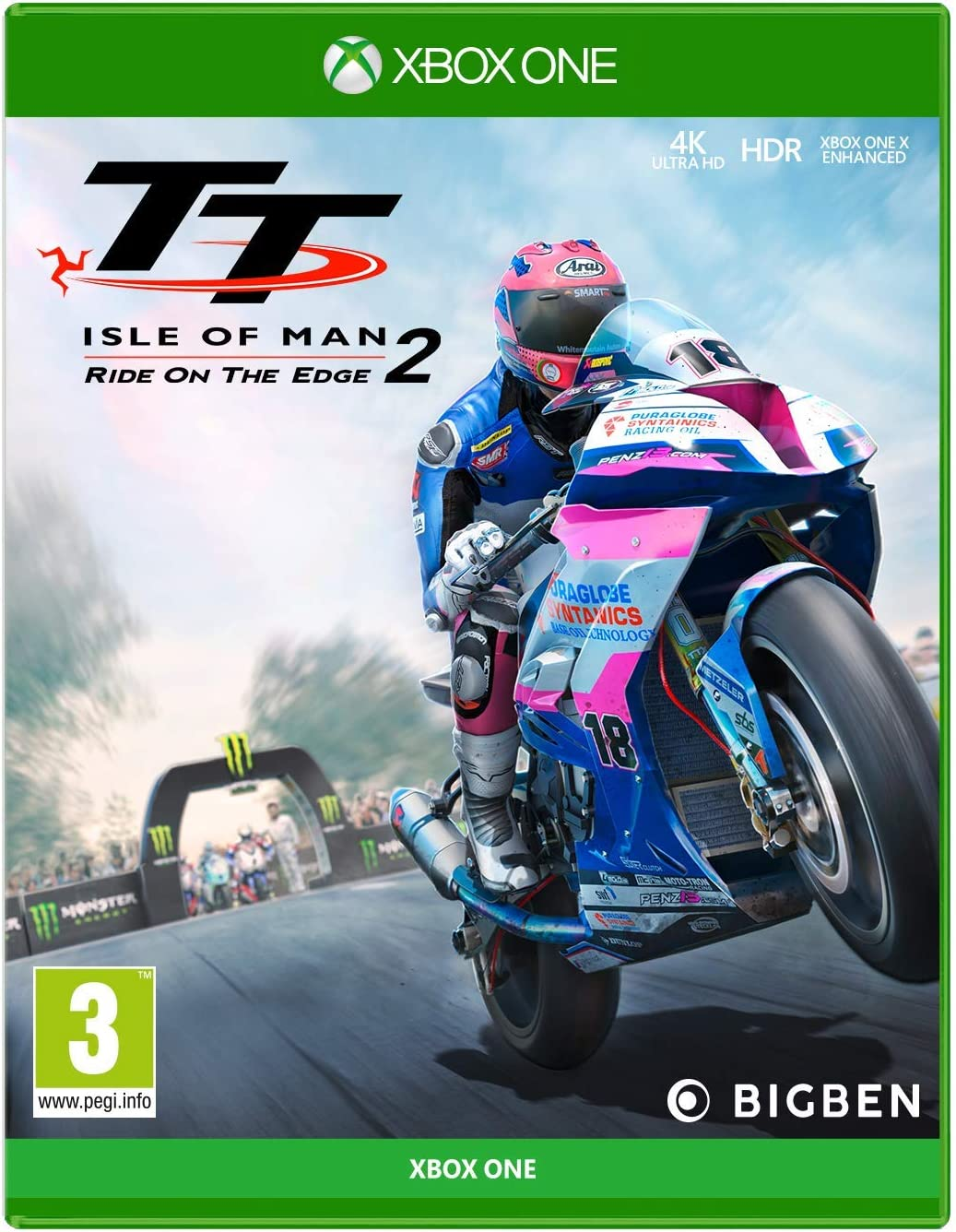 TT Isle of Man - Ride on The Edge 2 - Xbox One [Importación inglesa]: Amazon.es: Videojuegos