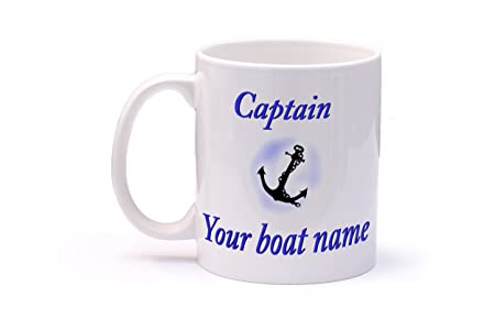 2f859c73f76 Personalised Captains Mug for Narrow Boat