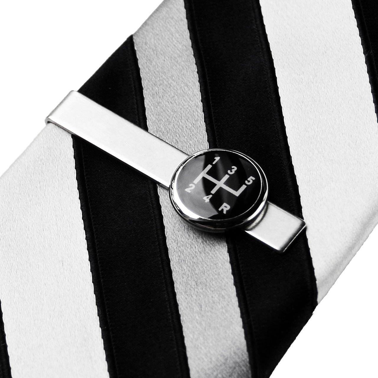 Gear Shift Tie Clip