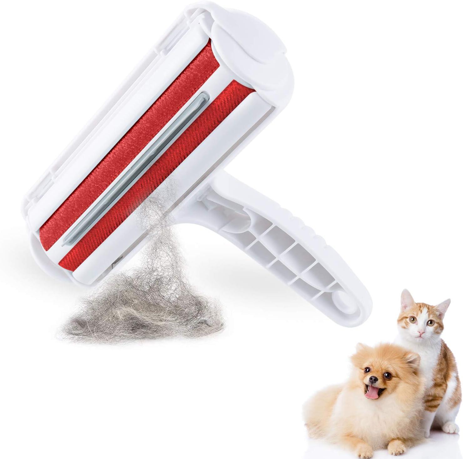 yipin Quitapelos y Rodillos para Mascotas , Removedor de Pelo de Mascotas ,Rodillos para Mascotas para Eliminar el Cabello de Los Muebles, Alfombras, Ropa de Cama, Ropa y Má