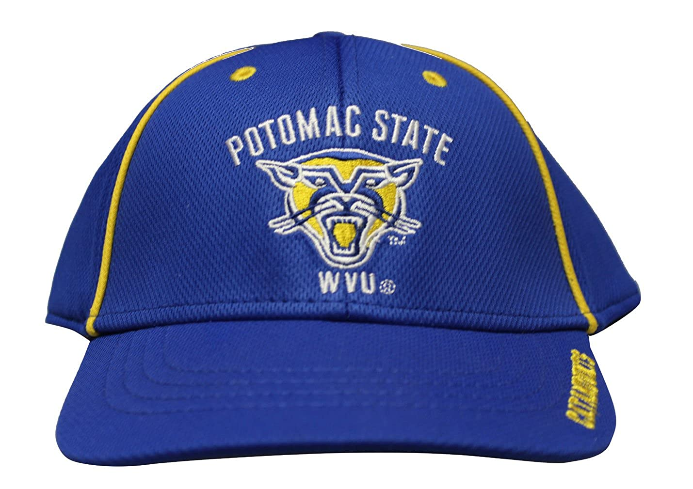 fb01a15851888 Rob sTees Potomac State College Of West Virginia University Knit  Unstructured Twill Cotton Baseball Hat Dad Cap at Amazon Men s Clothing  store