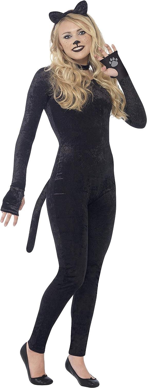 Smiffys Smiffys-44320S Disfraz de Gata, con Cola, Diadema con ...