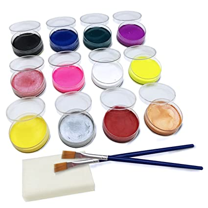 amazon com water based face paint kit non toxic hypoallergenic