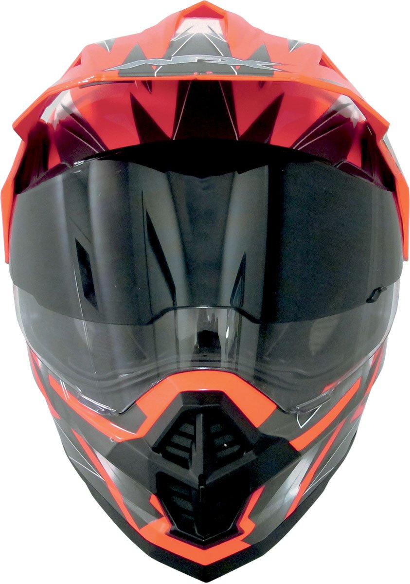 AFX Replacement Inner Sun Shield for FX-39DS Dual Sport Helmet Dark Smoke One Size