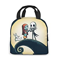 Lunch Bag Portable Insulated Lunch Box Cute Waterproof Tote Bento Bag For Girls Boys Women Men Office School Hiking…