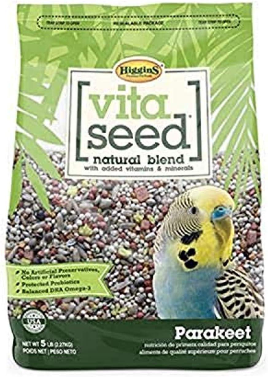 Higgins Vita Seed Parakeet 5 Lbs