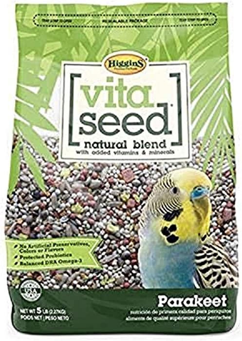 Top 10 Vita Parakeet Food