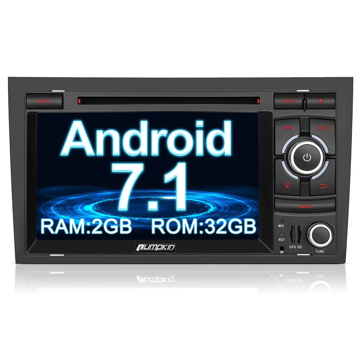 Pumpkin Android 71 2gb 32gb Car Stereo For Audi A4 Ford Transit Forum O View Topic Jvc Head Unit With Steering Electronics