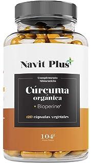 Vitamaze® Cápsulas de cúrcuma + curcumina piperina altamente ...