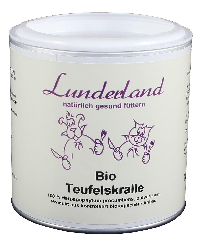 Lunderland Complément alimentaire bio–Griffe du diable, 100g, 1er Pack (1x 100g) LE037