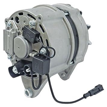 new alternator case farmall tractor 120 amp 8 groove pulley 87311822  504271461 11 204 327, alternators - amazon canada