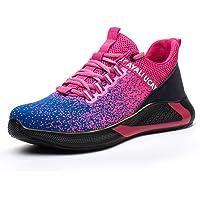 UCAYALI Zapatos de Seguridad con Punta de Acero para Hombre Mujer - Cómodos Ligeros y Transpirables, Talla 39-48