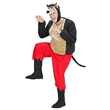Sancto - Disfraz de lobo para hombre, talla L (5095L): Amazon.es ...