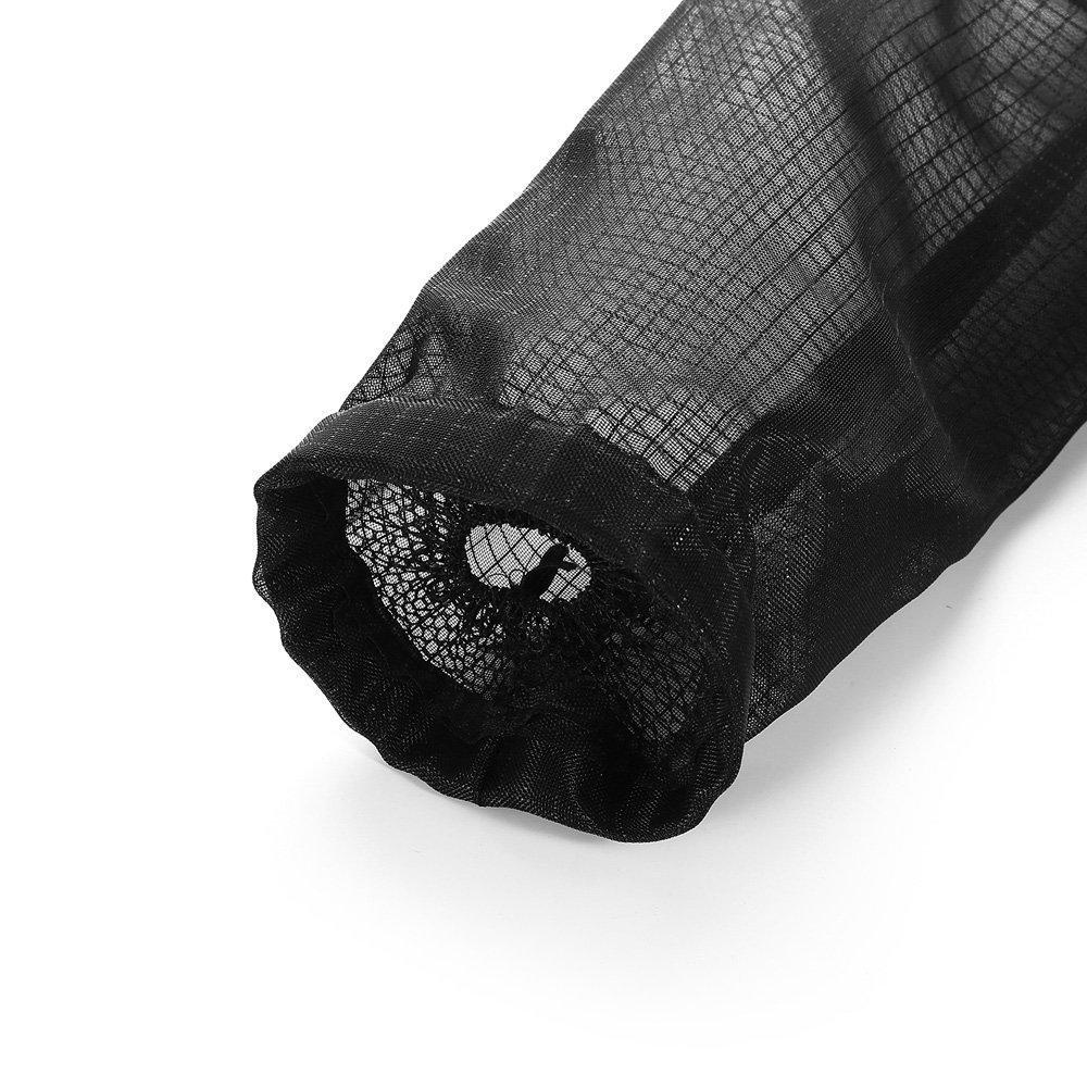 Portavasos Innovador Plegable 1pc Amarillo+1pc Negro CRIVERS Organizador de Bolsas Hanging Mesh Rubbish Bolsas de pl/ástico Transparente//Dispensador de Bolsas de Basura para Cocina