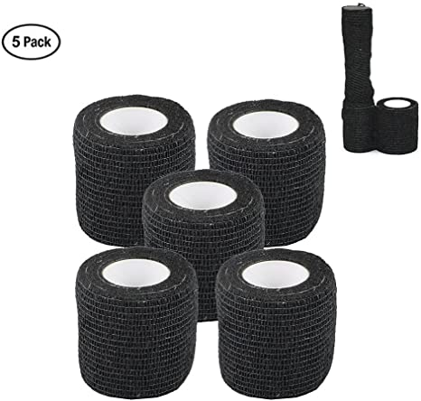 4.5m Non Woven Self-Cling Protective Gear Camouflage Tape Woodland Tape Roll