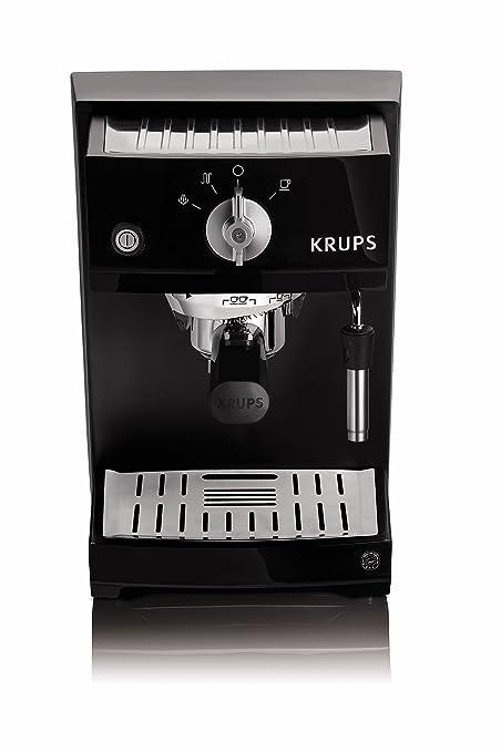 Krups YY8208FD - Cafetera de espresso, color negro: Amazon.es: Hogar