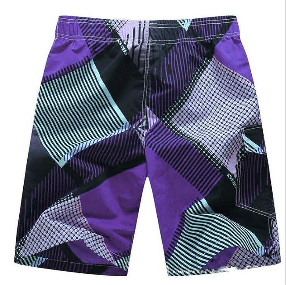 SHARYYOGA Mens 3D Swim Trunks Quick Dry Summer Underwear Surf Beach Shorts Elastic Waist Shorts Swim Breathable