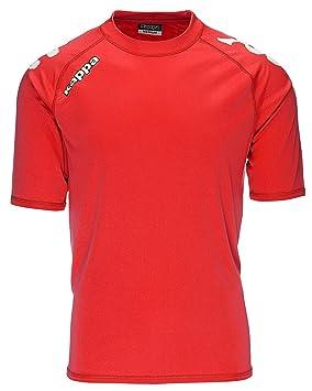 Kappa Veneto SS Camiseta, Hombre, Rojo, 2XL