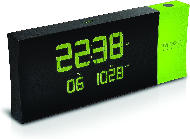 Oregon Scientific - RRM222P Reloj proyector con radio FM, PRYSMA G ...