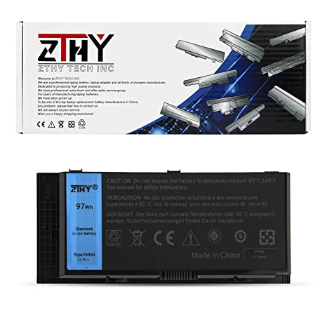 ZTHY Laptop Battery FV993 (97Whr 11.1V 9-Cell) Compatible for Dell on