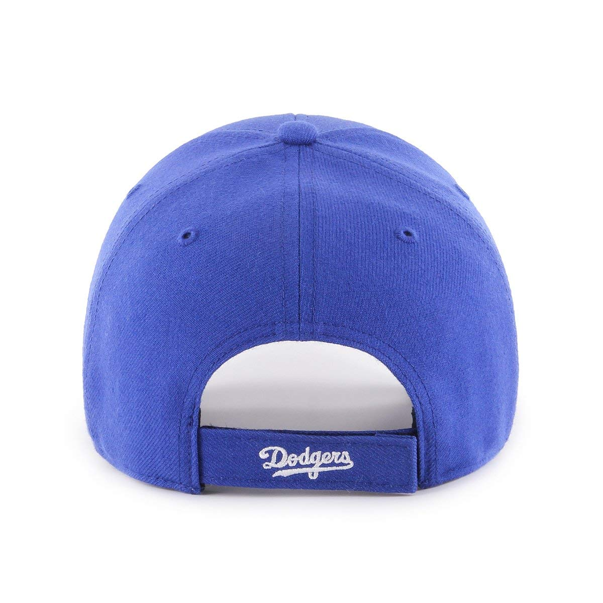 e0f2475cf35 Amazon.com    47 Authentic Brooklyn Dodgers Cooperstown Blue MLB Adjustable  - MVP   Sports   Outdoors