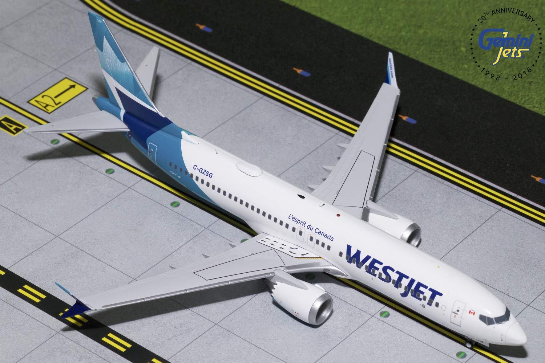 【お買得】 Gemini200 Westjet B737 Max B737 8 Livery 1:200スケール Max ダイキャストモデル 飛行機 Westjet B07L68NFLP, カミカワチョウ:46a923bd --- wap.milksoft.com.br