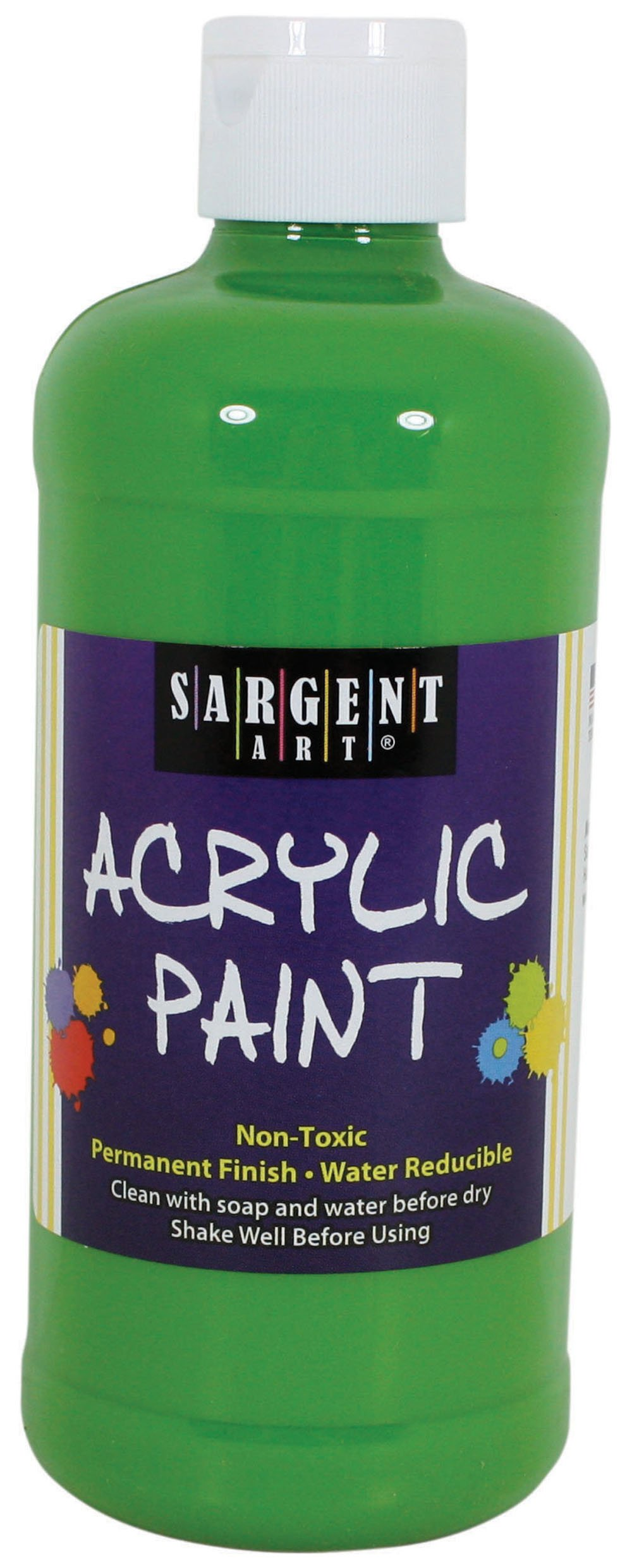 Sargent Art 24-2465 16-Ounce Acrylic Paint, Light Green