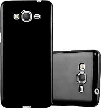 Cadorabo Funda para Samsung Galaxy Grand Prime en Jelly Negro ...