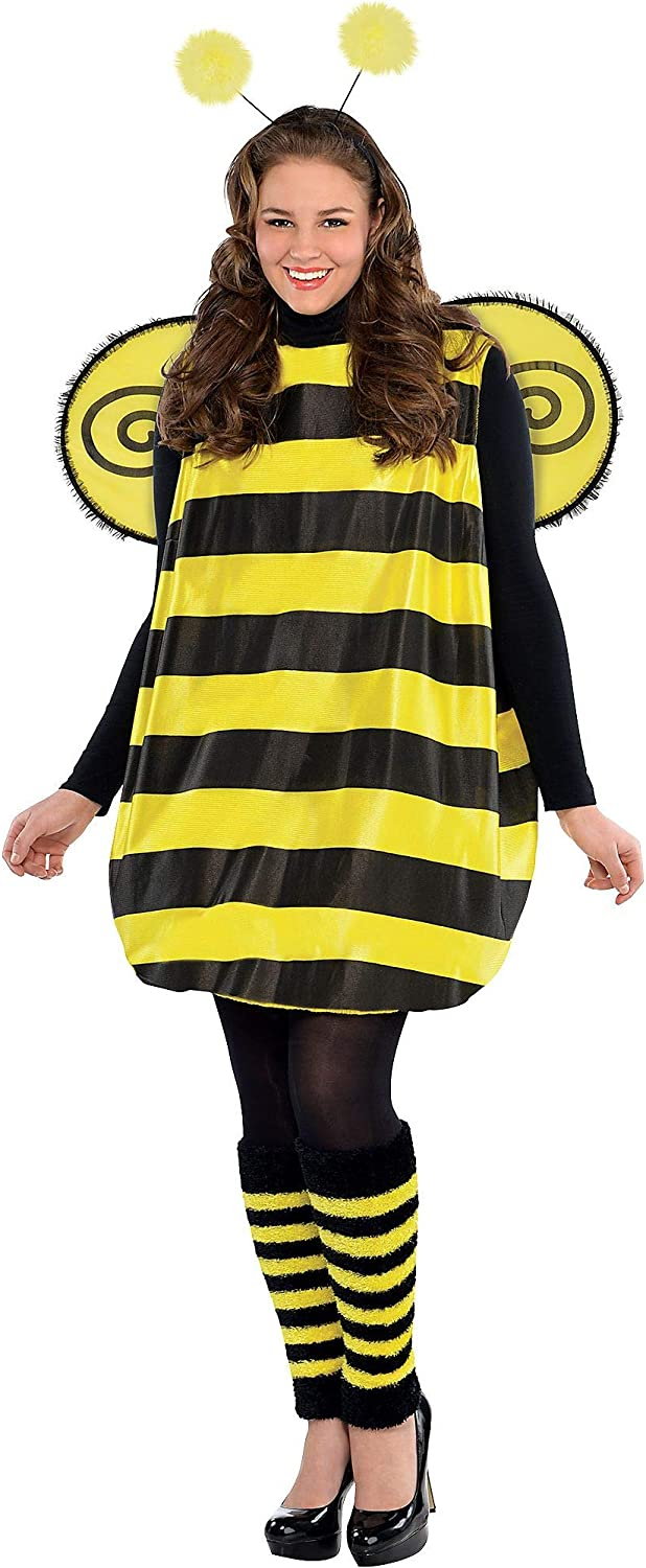 AMSCAN Darling Bee Halloween Costume for Women, Plus Size, with Included Accessories