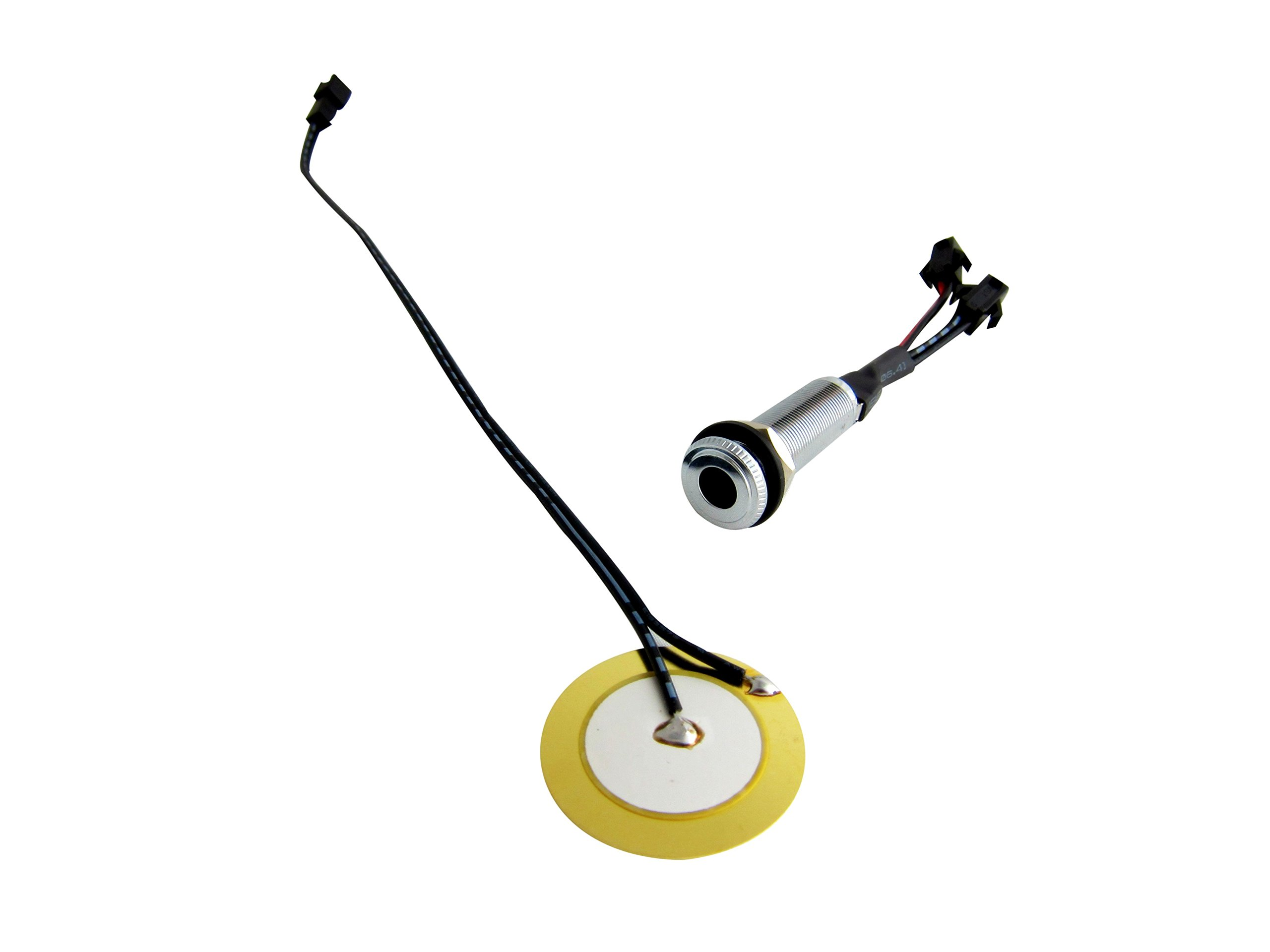 Goedrum Drum Trigger for DIY electronic drum / For Use on Acoustic Wood Drum Shell