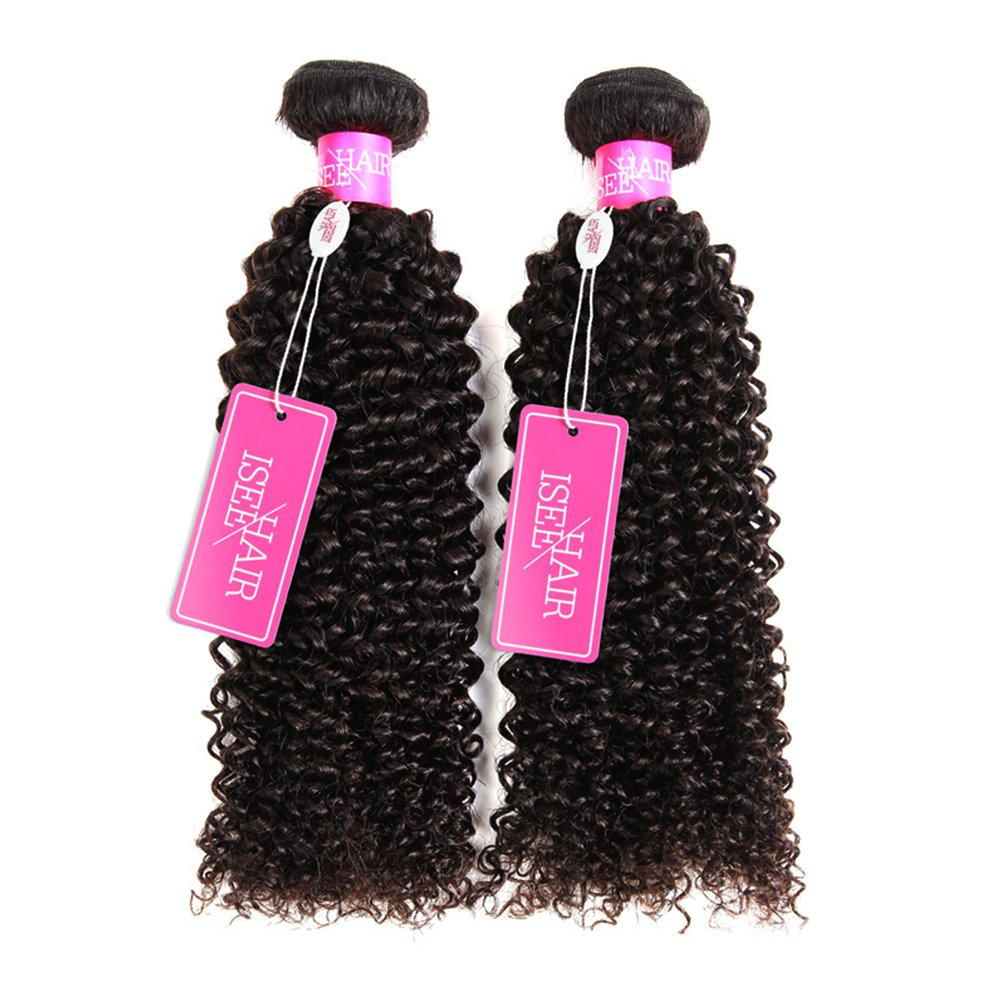 Amazon Isee Hair 9a Grade Mongolian Kinky Curly Hair Extension