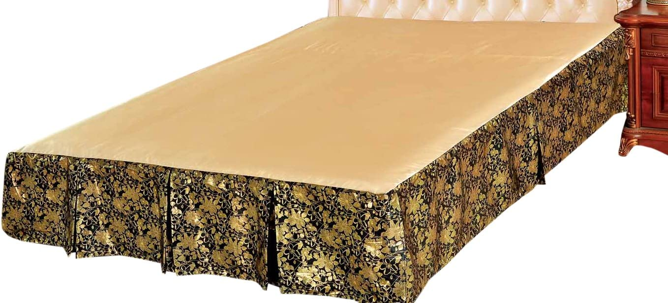 Tache Home Fashion BSK-989LS Bed Skirt, Twin