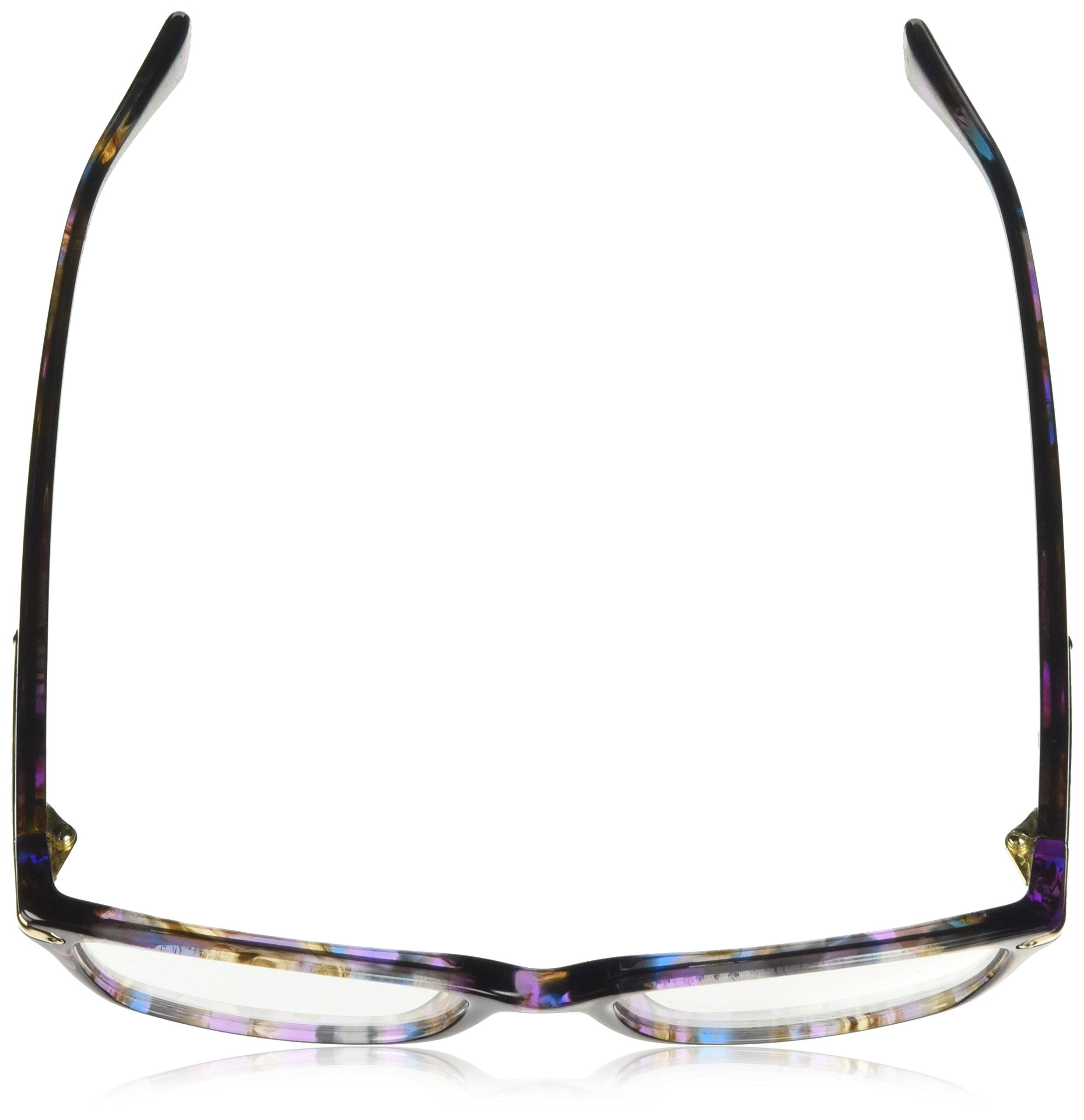 Coach Women's HC6065 Eyeglasses Confetti Purple 51mm by Coach (Image #4)
