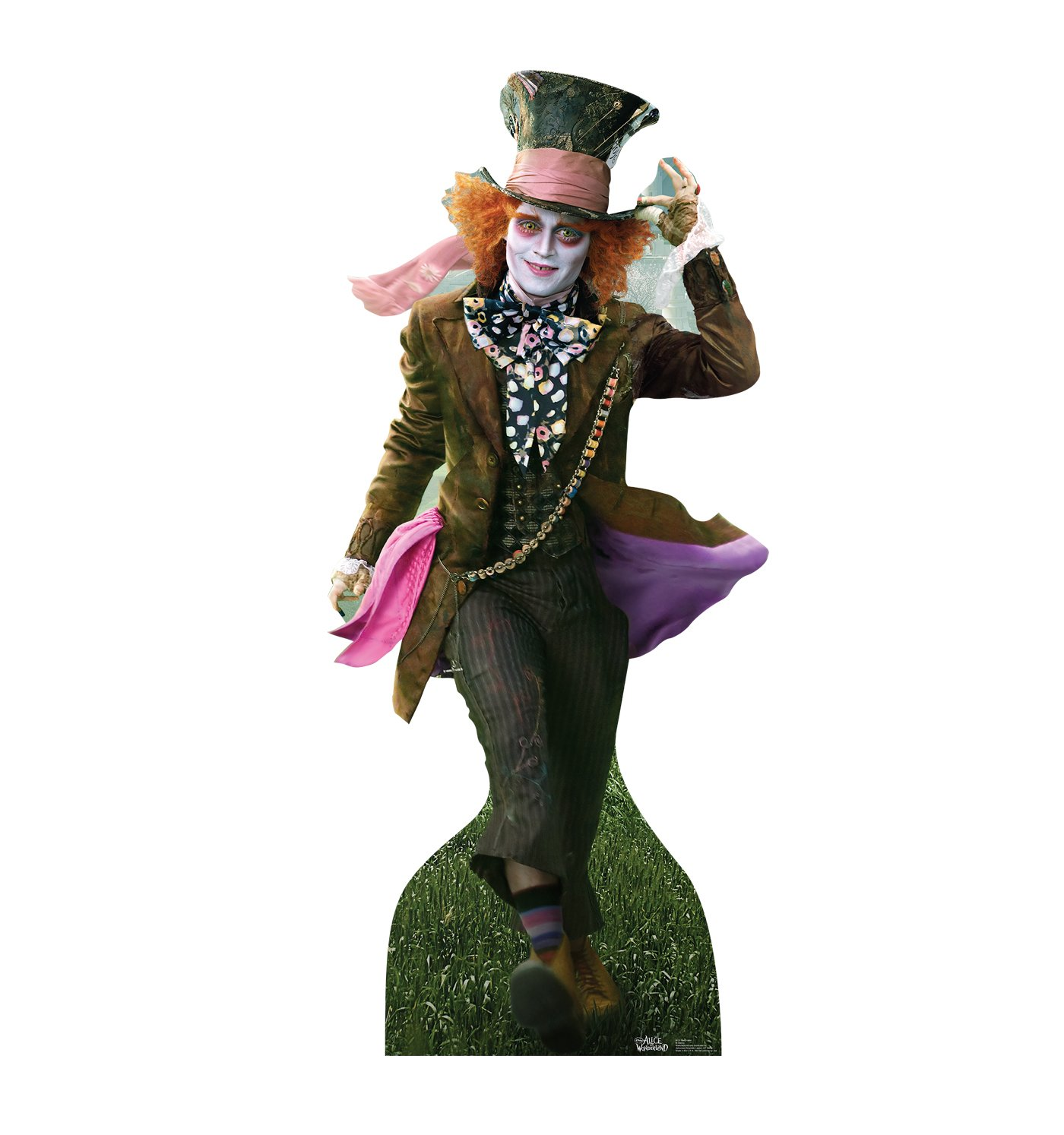Advanced Graphics Mad Hatter Johnny Depp in Alice in Wonderland LifeDimensione Wall Decor Cardboard Standup Cutout Standee Poster