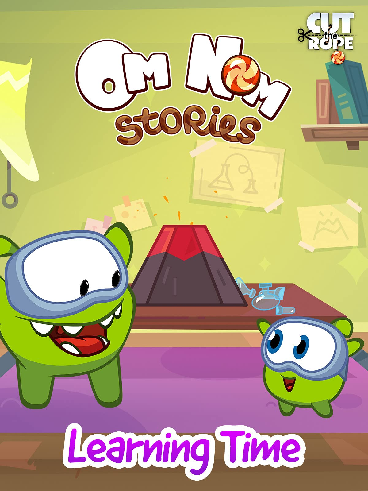 Cut The Rope: Om Nom Stories - Learning Time