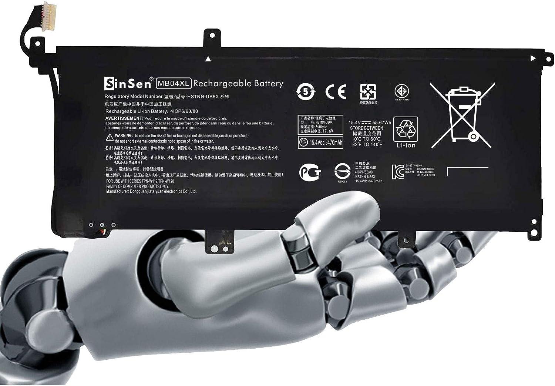 Laptop Battery for HP,MB04XL Battery HP Envy X360 M6-AQ105DX M6-AQ003DX M6-AQ005DX M6-AR004DX AQ103DX Convertible PC 15 15-AQ005NA 15-AQ101NG AQ015NR Series 843538-541 844204-850