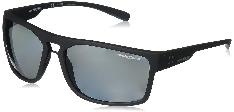 Arnette Brapp Gafas de Sol, Matte Black, 62 para Hombre