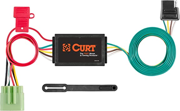 Amazon.com: CURT 55369 Vehicle-Side Custom 4-Pin Trailer Wiring Harness,  Select Jeep Grand Cherokee: Automotive | 99 Jeep Cherokee Trailer Wiring |  | Amazon.com