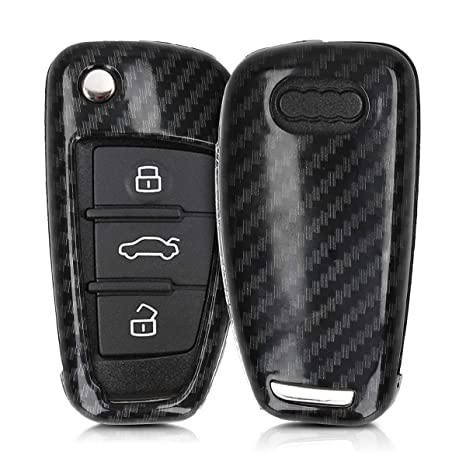 Amazon.com: Kwmobile - Carcasa rígida para llave de Audi de ...