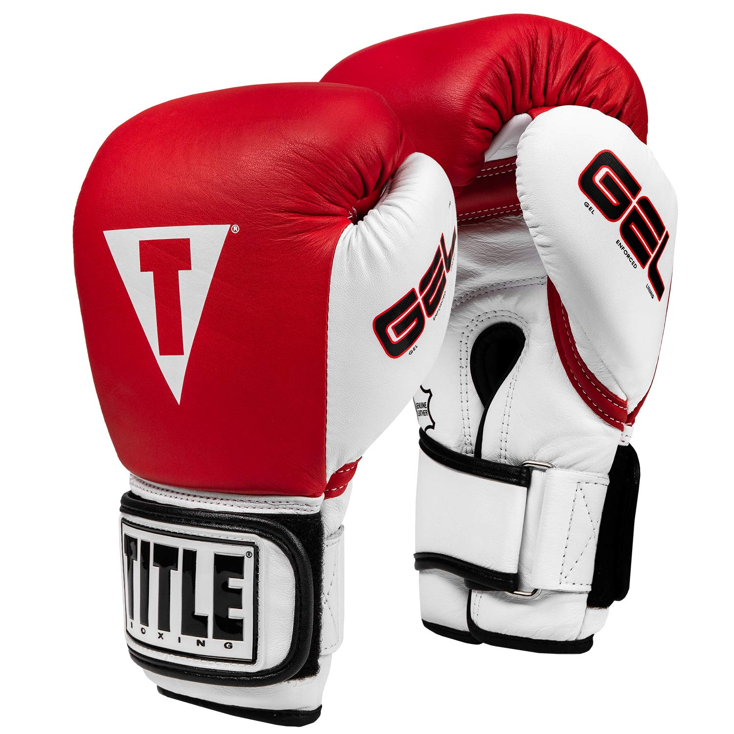 ae2955e062efb Amazon.com : Title Gel World Bag Gloves, Red, Medium : Training Boxing  Gloves : Sports & Outdoors