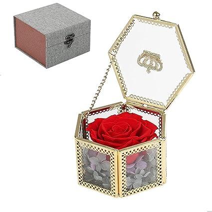 MFFD Best Gifts WomenHandmade Preserved Flower RoseUpscale Immortal FlowersGifts Women