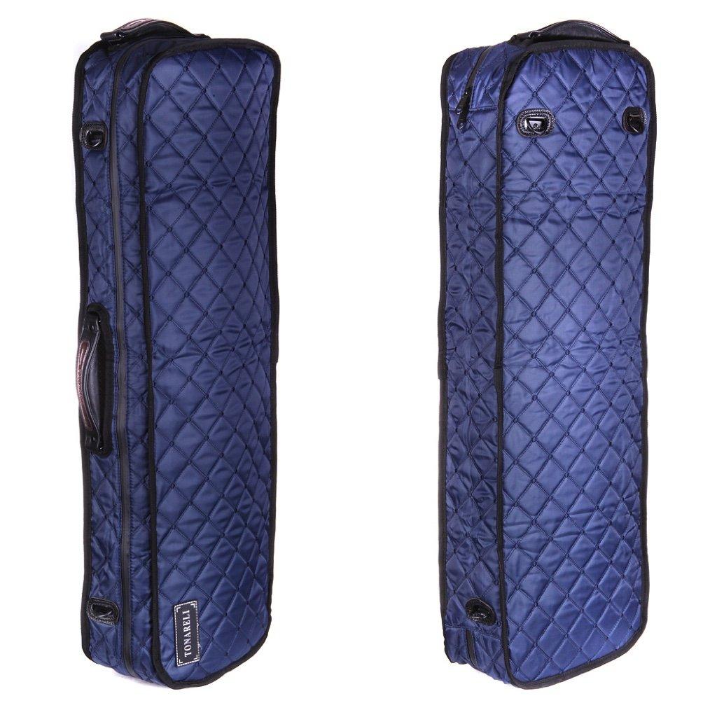 Tonareli Viola Case Cover for oblong fiberglass cases - Navy VACCO1001