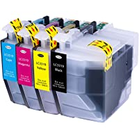 Hehua Compatible Brother LC3319 LC3317 LC-3319XL LC-3317XL Ink Cartridge High Yield Replacement for Brother MFC-J5330DW…