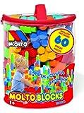 MOLTO - Blocks de construcción, bolsa con 60 piezas (6205)