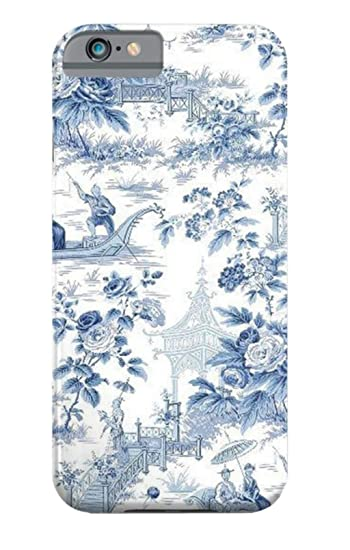 new concept 0502b 05194 Amazon.com: ZHDS Phonecase Powder Blue Chinoiserie Toile ...