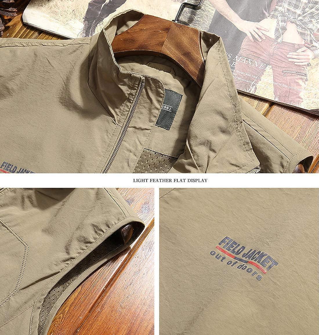 Gihuo Mens Casual Outdoor Lightweight Quick Dry Safari Travel Vest