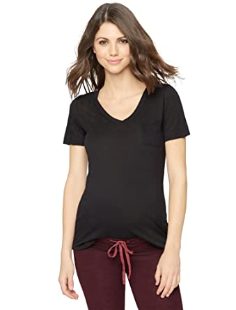 520731bb Splendid Super Soft Maternity T Shirt at Amazon Women's Clothing store: