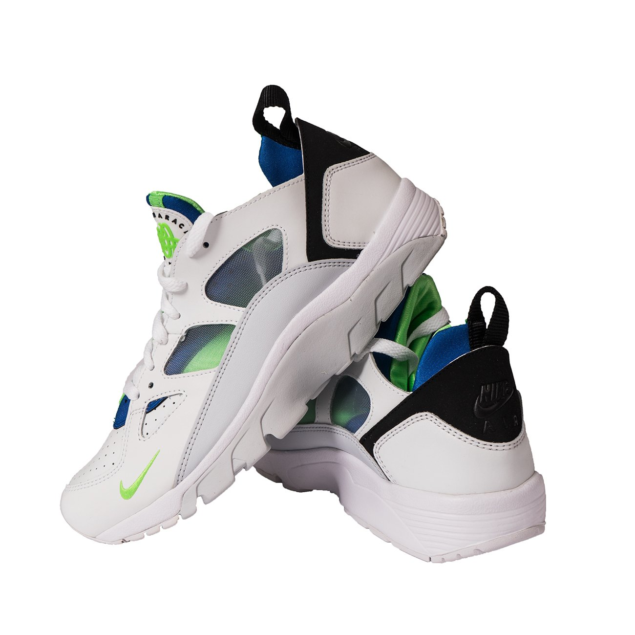 online retailer 85fe5 c2e17 australia customer reviews 9845b c7d11  coupon code for nike air green  trainer huarache air low mens mens white royal blue scream